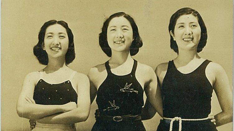 日本老照片:第二张是武士夫妻,第五张是竹久梦二的前妻