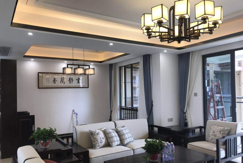 客餐厅同属一个空间,吊顶设计可以借鉴这三套方案!