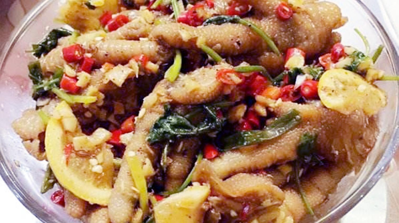 酸辣凤爪:激活夏天食欲开胃美食菜,让没胃口的您都能越吃越有味