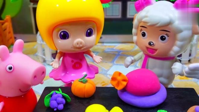 小猪佩奇培乐多玩具 儿童手工彩泥漂亮的海星
