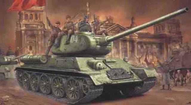 二战时苏联研制的最成功的武器是什么?它的产量是虎式坦克的35倍