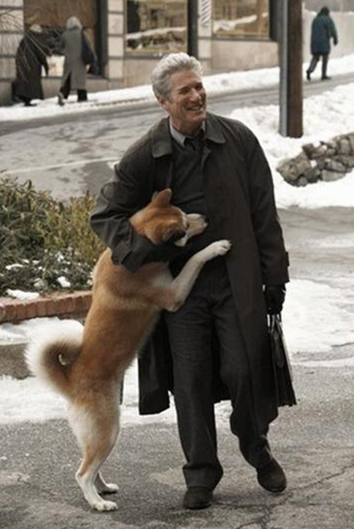 人与动物操老师_人与动物之间感人至深的故事:《忠犬八公的故事》