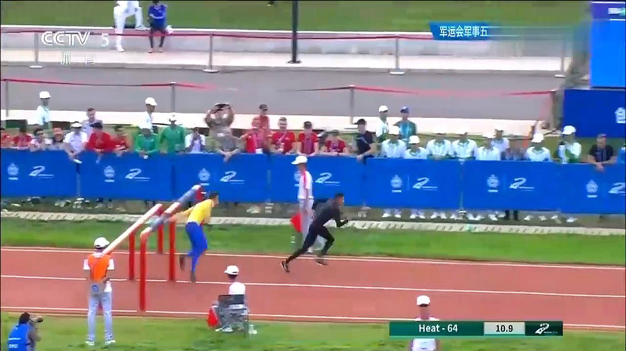 潘玉程障碍跑:中国选手潘玉程这500米看得热血沸腾