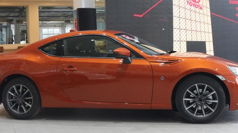 丰田汽车即将推出新款跑车,进口丰田86,动感十足!