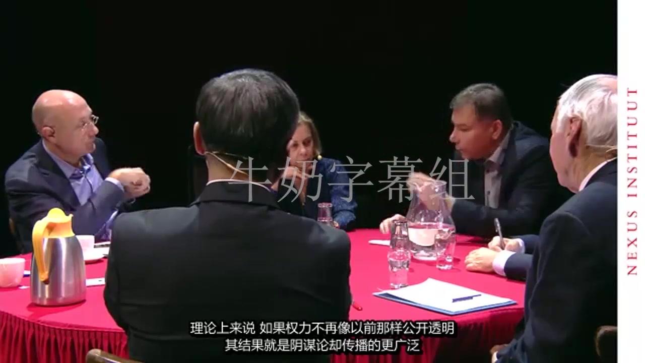 张维为教授在海外与各国学者辩论