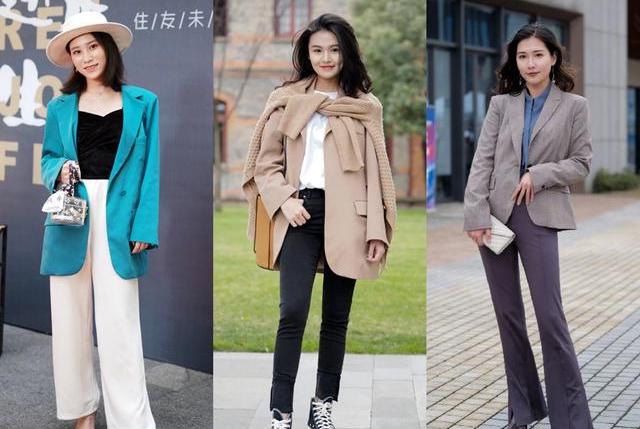 春季西服如何搭配更加的有时尚感,春天这么穿超美!