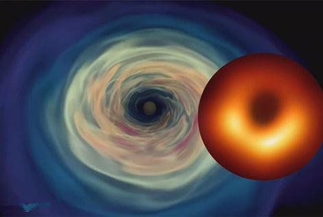 人类首张黑洞照片亮相,距地球5400万光年,它长什么样?