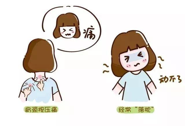 脖子扭伤卡通图片 脖子不舒服的图片卡通图片