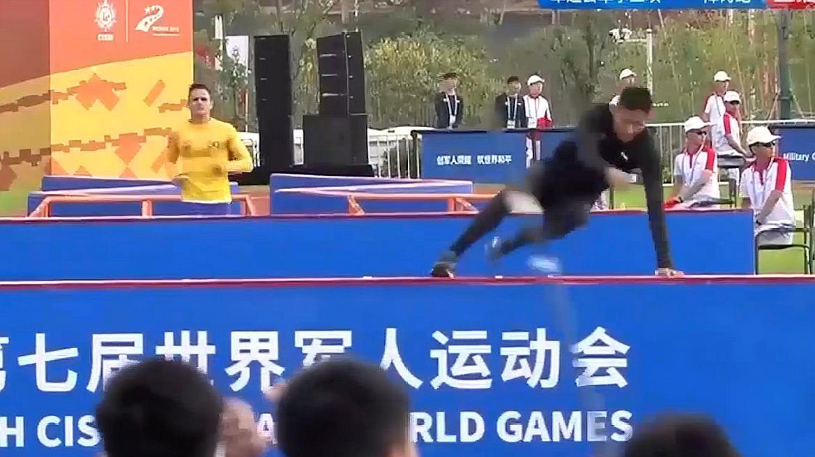 了不起!中国选手潘玉程障碍跑破世界纪录!