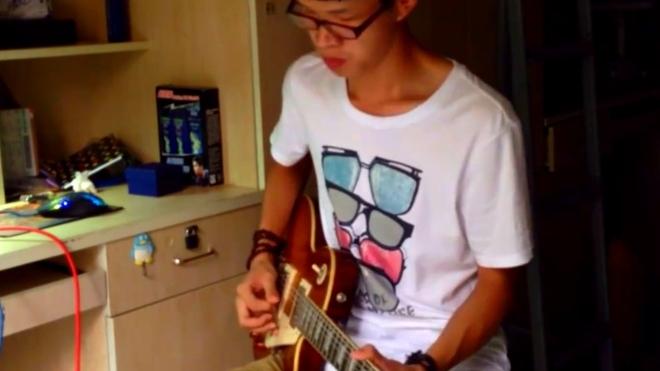 徐奥电吉他演奏歌曲《神话》回味经典