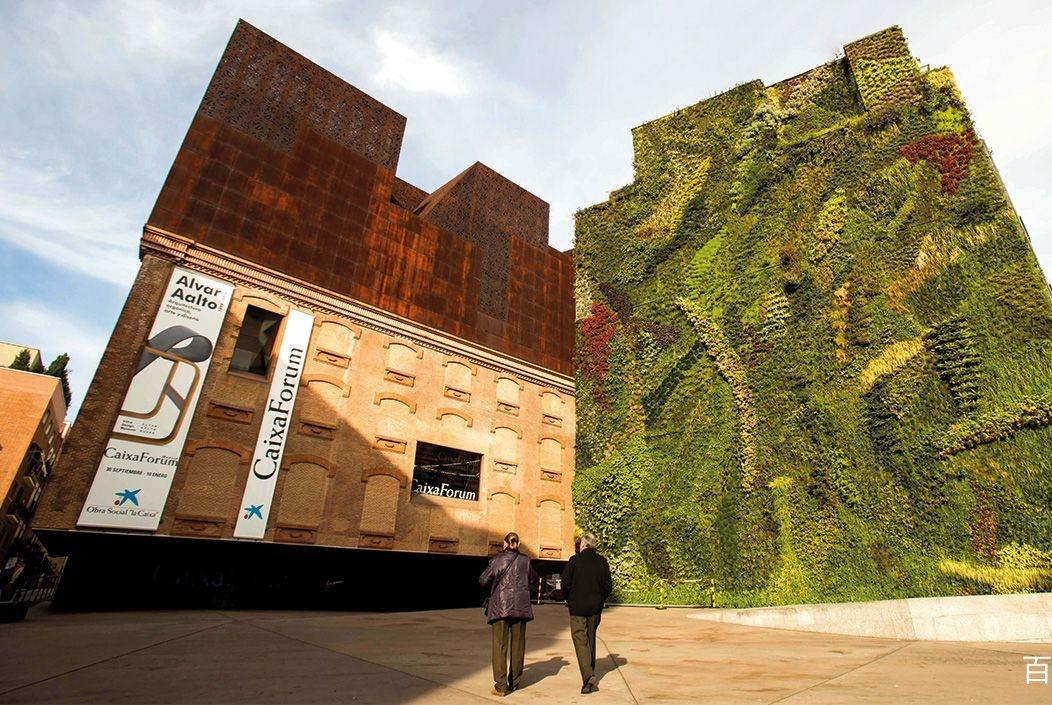世界上很著名的4座垂直花园,灵感来自于巴比伦空中花园