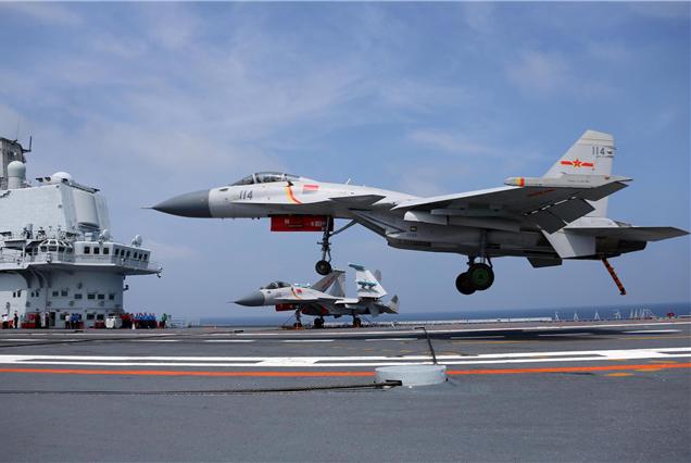 003型航母曝光最新进展,3个方面点亮中国航母特点,解放军厉害了