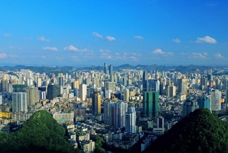直击贵州9个地级市城建面貌,来看看你家乡城市怎么样吧