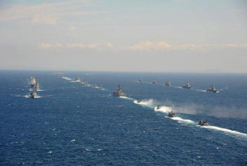 60多国齐聚青岛贺中国海军诞辰,美国苏联都没能达到过这种高度