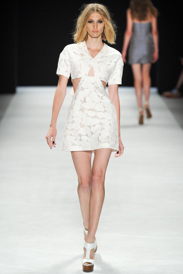 时装周:模特穿搭前卫新潮,服饰设计诠释时尚定义,造型图片