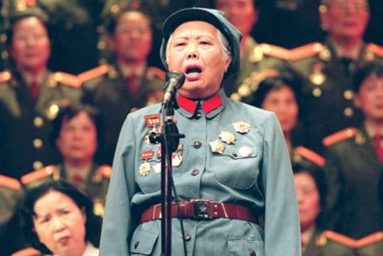 100岁高龄女红军,丈夫是开国上将,儿子还是省长