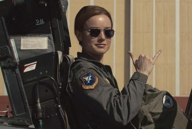 《惊奇队长》:拉尔森挺符合惊奇队长这个角色的,有军人刚强气质