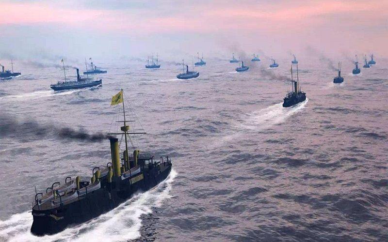 北洋水师很厉害!日本军舰大量中弹,为何一艘都没有被击沉?