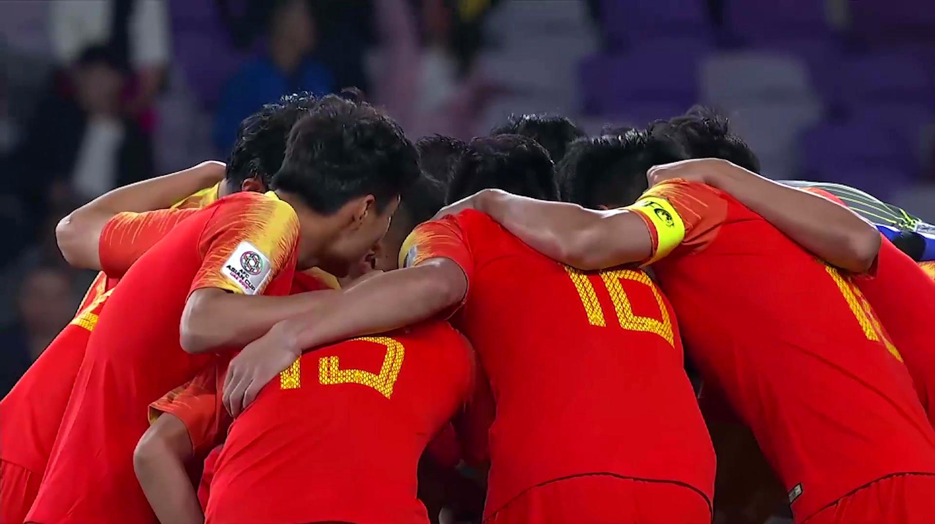 亚洲杯回归:肖智郜林两连杀,中国2-1逆转泰国!
