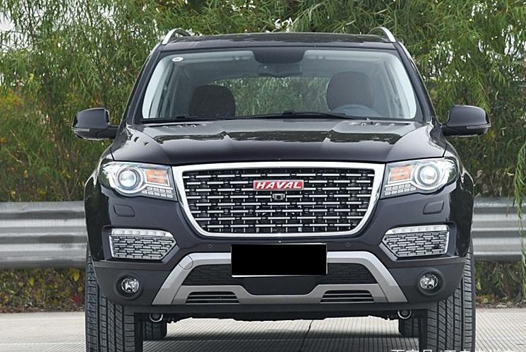 外观像大众途锐?2.0T+采埃孚8AT,车重2吨多,哈弗H8你喜欢吗?