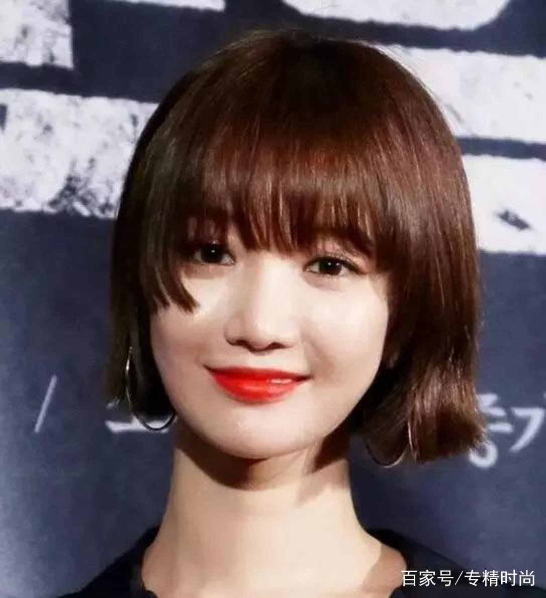 女明星流行发型大总结,公主切锁骨烫羊毛卷都上榜图片