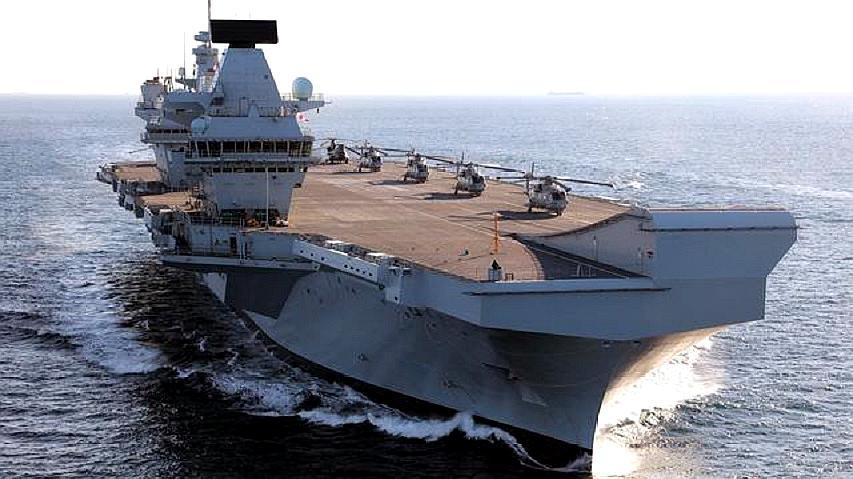 英海军宣布派新航母到我们某海域,引发轰动,巴西人:这是在作死
