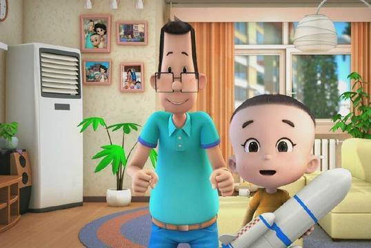真人版《大头儿子》已开播,小头爸爸造型神还原,100集不够看!
