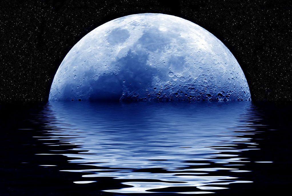 如果把液态水倒在月球上会怎样?