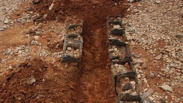 怀宁首次发现一处汉代陶棺墓
