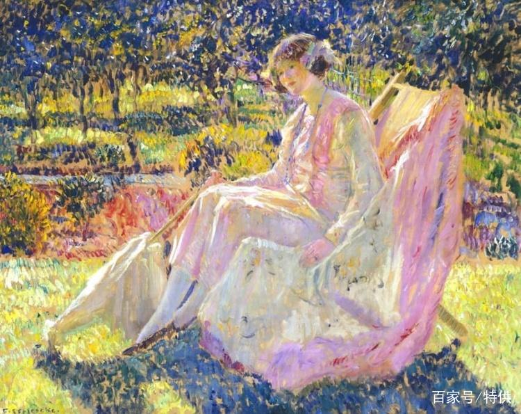 世界经典油画赏析_欣赏世界油画,领略各国艺术:著名美国印象派画家