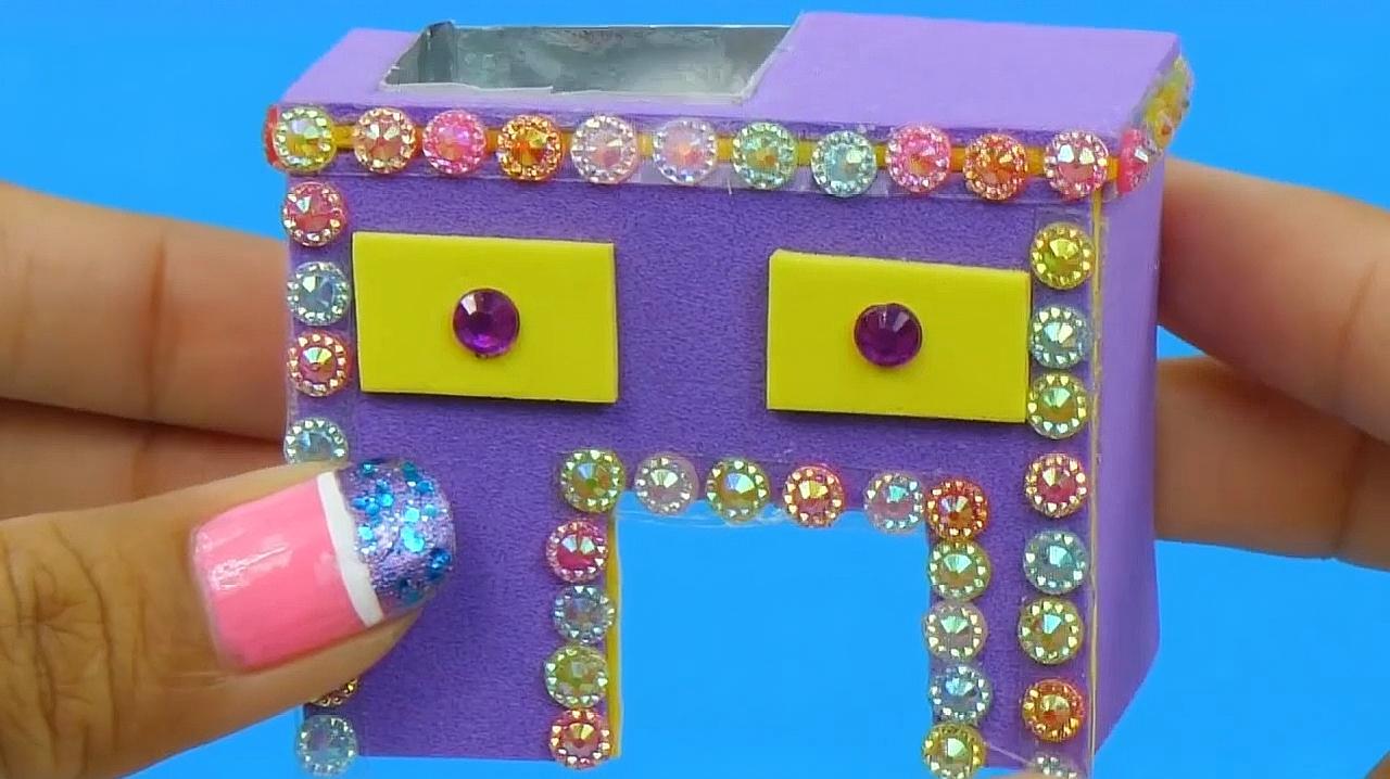 Hello Kitty的迷你浴室,看完简直不要太漂亮,赶快动手做起来!