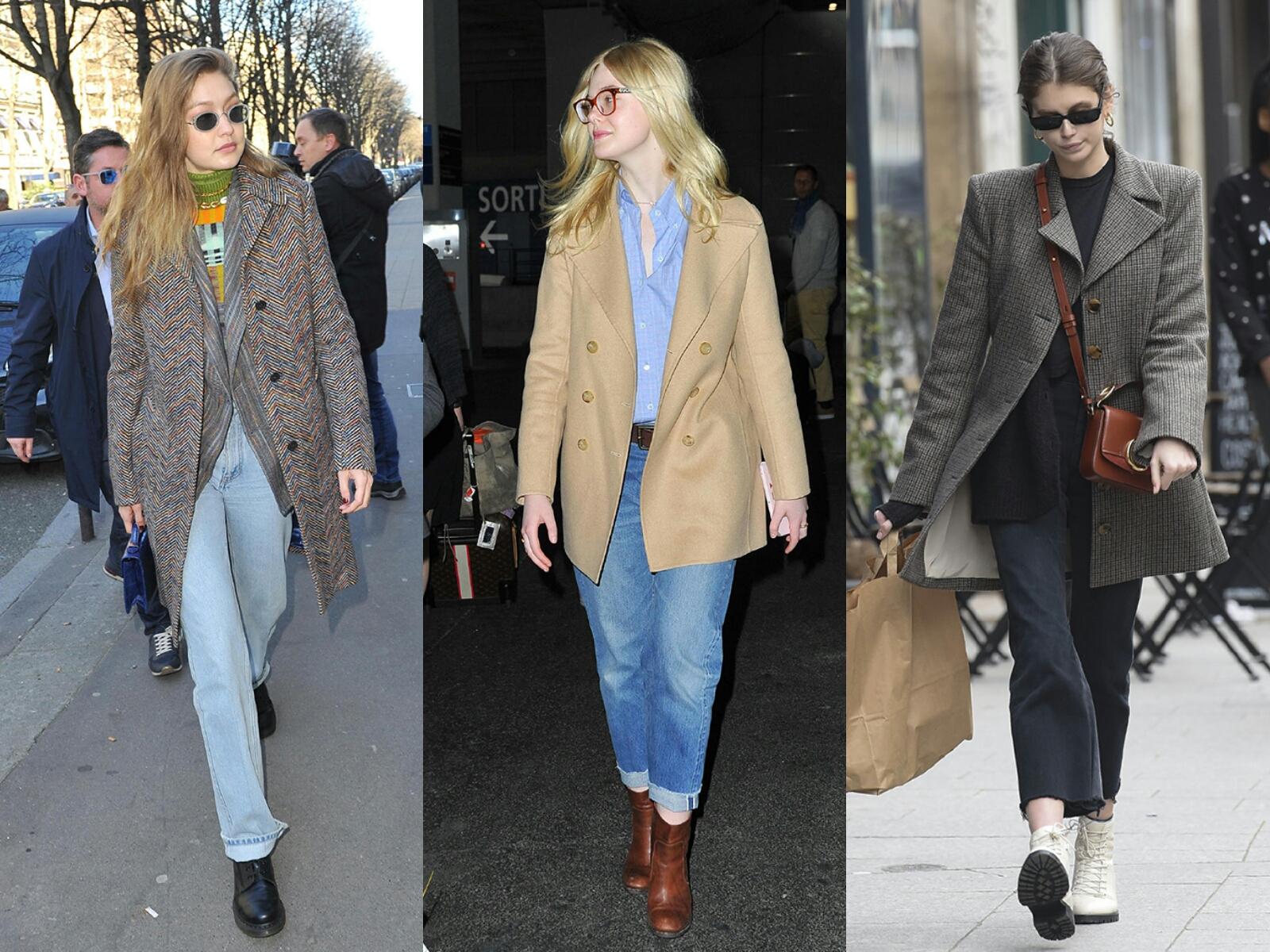 时尚搭配总是少不了牛仔衣,大衣,卫衣,针织衫,你配齐