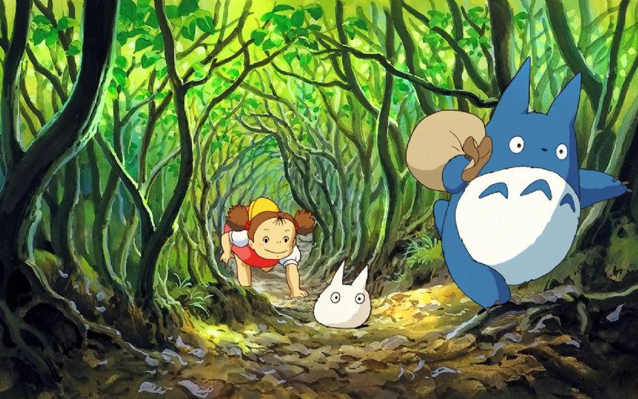 宫崎骏《龙猫》再上映:我们一起大笑看看 可怕的东西