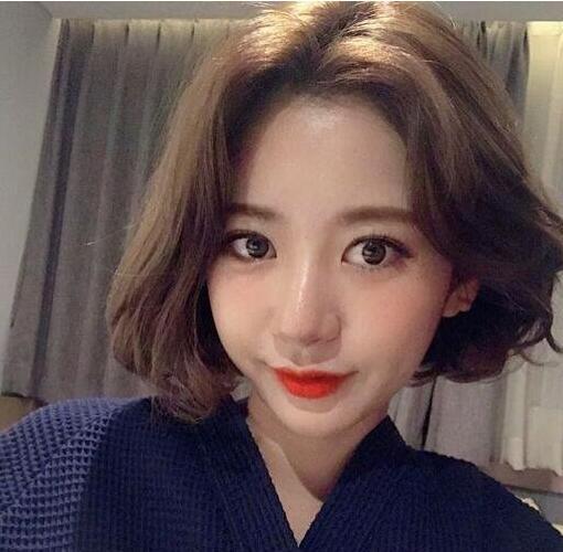 """2019初春最火的""""卷短发""""发型,想换发型的女生可以做图片"""