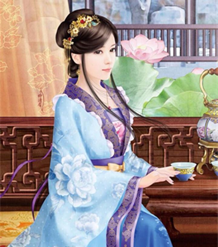 5本古代言情,《白发皇妃》三千发丝白如雪,回眸一顾倾