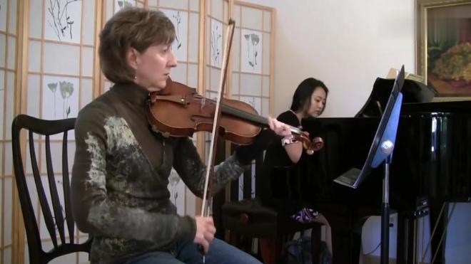 丹克拉六首小提琴变奏曲 Dancla Air Varie