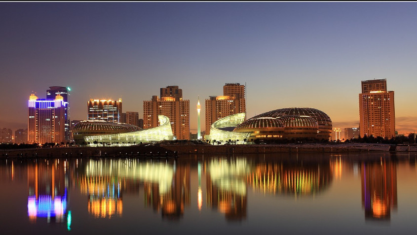 祖国风光旅游:郑州黄河游览区,开封访古