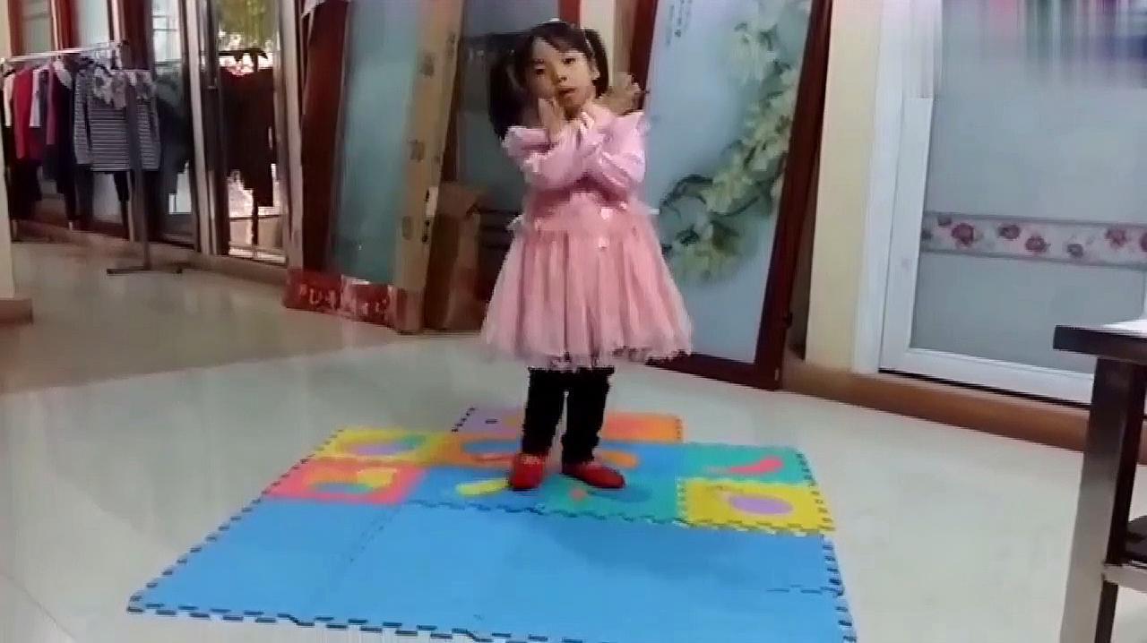 亲子萌宝互动,儿童手足舞蹈,这样的童年才更有意义!