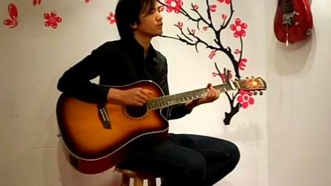 吉他教学弹唱 孙耀威 爱的故事 (上集)-(cover by 缘