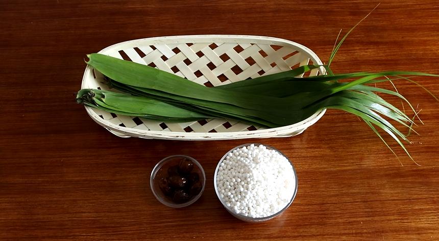 吃腻了糯米粽子,教你用西米做水晶粽子