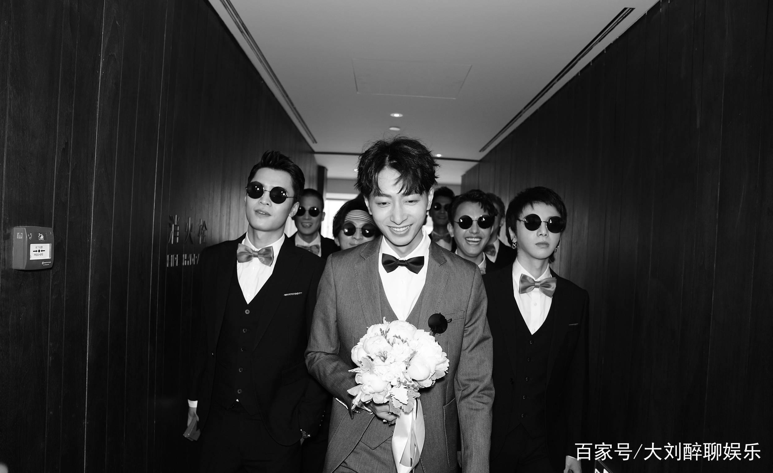 快男左立结婚与熊小玥结婚,伴郎团竟是他们,网友们表示太幸福!