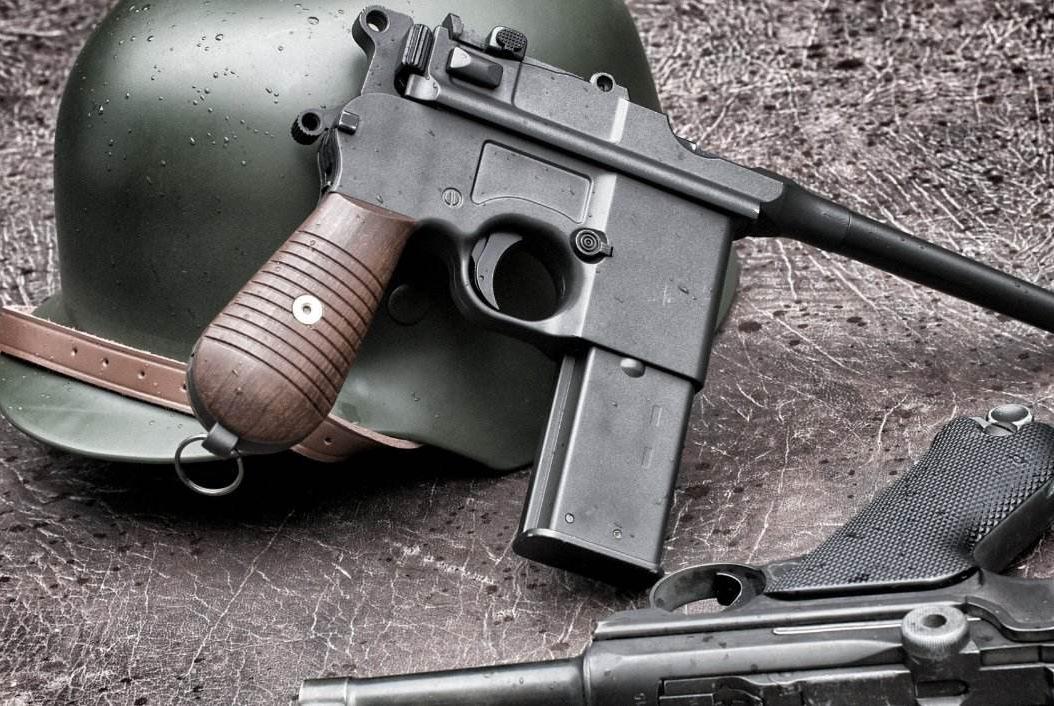 民国第一名枪盒子炮:与驳壳枪有什么区别?中国巧妙解决了其难题