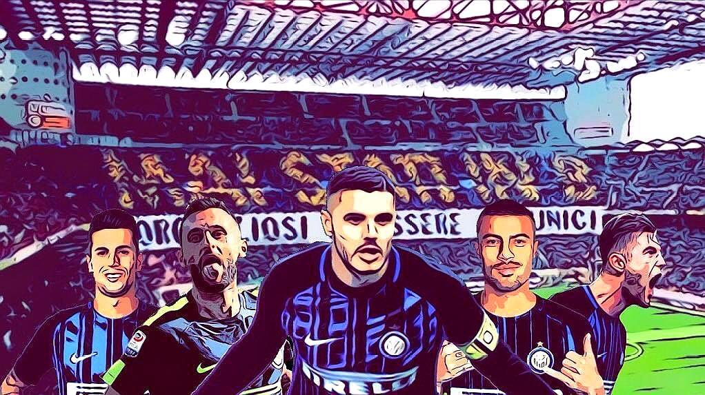 Pazza Inter!国米球迷高声歌唱:我将永远铭记这色彩