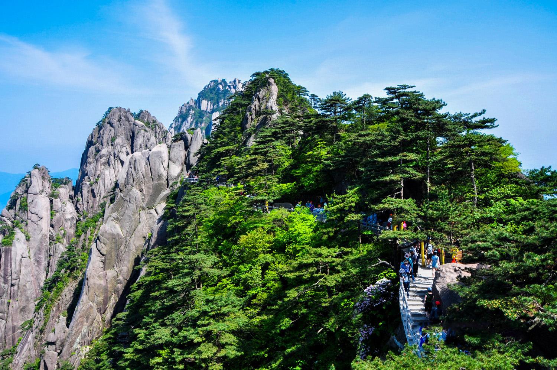 """""""三山五岳""""之安徽黄山风景实拍"""