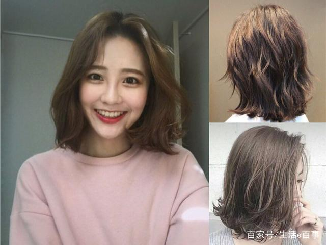 """今年流行""""齐颌短发""""发型,完美修颜超显脸瘦,秒变女神图片"""