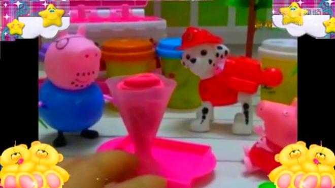 小猪佩奇彩泥粘土 粉红猪小妹乔治橡皮泥玩具【玩具