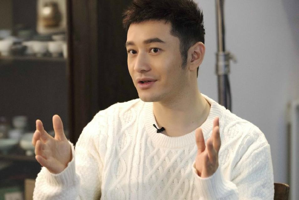 黄晓明承认演技不好自曝曾想过自杀,谈论与baby互动却非常无奈