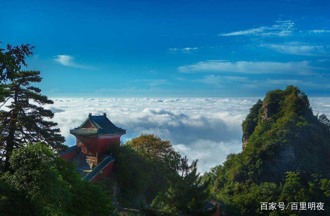 武当山的风景