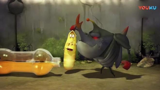 爆笑虫子: 搞笑虫子也抵挡不住碳酸饮料的诱惑! 搞笑