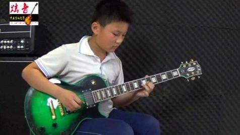 徐硕 电吉他独奏张杰《逆战》 沂水炫音吉他 长虹小学